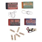 Matchbox Puzzle the Horseshoe, the Knot, the Heart Breaker or the Trapeze
