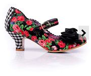 Irregular Choice Mary Jane Court Shoes