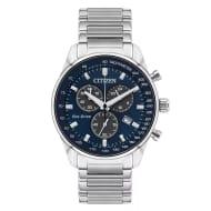 *HALF PRICE* Citizen Men's Blue Dial Chronograph Watch + *BOGOHP*