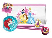 Disney Princess Official Flat Filled Pencil Case