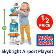 1/2 PRICE at AMAZON: Mega Bloks Skybright Airport Playset ***4.5 STARS***