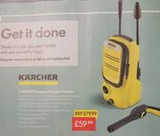 Karcher K2 1400w Compact Pressure Washer £59.99 at Lidl from Sunday 26th May