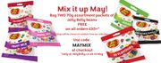 Two Free 70g Packets of Jelly Belly Beans with Basket Orders of £30+