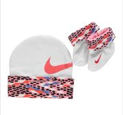 Nike Hat/Bootee Set