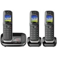 Panasonic Cordless Telephone with Answer Machine - Triple - Save £30!