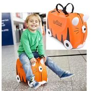 SAVE £8 - Trunki Childrens Ride-on Suitcase - Tipu Tiger ***4.7 STARS***