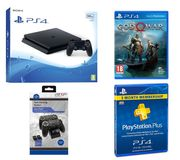 SONY PlayStation 4 Slim, Docking Station & PS plus Bundle-500 GB Only £279