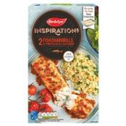 Birds Eye Inspirations 2 Fish Chargrills with Tomato & Herbs 300g - Save £1
