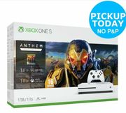 Xbox One S 1TB Console & Anthem Bundle Only £229.99