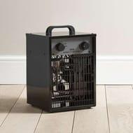 *HALF PRICE* 3KW Black Industrial Workshop Garage Utility Heater