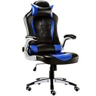 JL Comfurni Gaming Chair Ergonomic Swivel Executive Office Chair