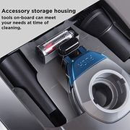 EUREKA S500 Vacuum Cleaner, Plastic, 700 W, 3 Liters, Grey/Black