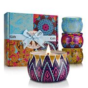 Yinuo Mirror Scented Candles Gift Set of 4,