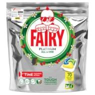 Fairy Platinum Dishwasher Tablets Lemon 70 Pack