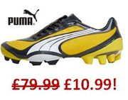NOT £79.99 - JUST £10.99! PUMA Junior FOOTBALL BOOTS