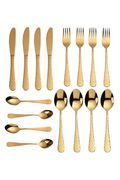 16-Piece Cutlery Set with 6 FREE Teaspoons