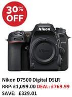 GOOD PRICE! Nikon D7500 Digital DSLR Camera Body ***4.8 STARS***