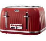 CHEAP PRICE & FREE DELIVERY! BREVILLE Impressions 4-Slice Toaster - Venetian Red