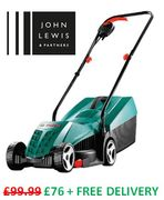 SAVE £23.99 - Bosch Rotak 32 Lawnmower - FREE DELIVERY