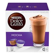 NESCAF DOLCE GUSTO Mocha Coffee Pods, 16 Capsules (Pack of 3 - Total 48
