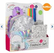 Colour Your Own Fashion Stationery Set - Unicorn