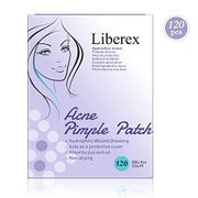 Liberex Acne Pimple Master Patch - 120 Patches Hydrocolloid Absorbing Bandages