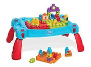ALMOST 1/2 PRICE - Mega Bloks Build & Learn Table ** 4.5 Stars** FREE DELIVERY
