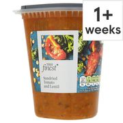 Tesco Finest Vine Ripened Tomato and Lentil Soup 600G