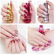 Mirror Effect Metallic Nail Polish 80% off + Free Delivery