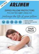 Anti-Allergy Pair of Pillow Protector 7%off at eBay - Starhomeware