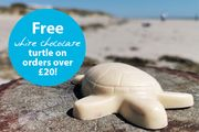 Spend £20 before Postage Online and Get a Free White Chocolate Giant Turtle