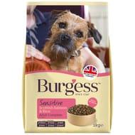 Burgess Sensitive Adult Dog Food 2kg Scottish Salmon & Rice NOW £1.00 WAS £4.99
