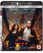 Inferno (4K Ultra HD + Blu-Ray + Digital HD) [UHD]