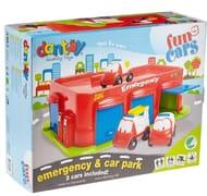 Dantoy Quality Toys Emergency & Car Park Set 1+ Years