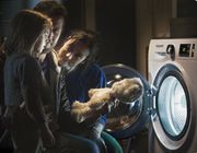 £50 Cashback and a Teddy Bear When You Buy Selected Hotpoint Laundry Appliances