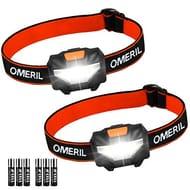 OMERIL LED Head Torch