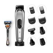 Braun 10-in-1 All-in-One Trimmer MGK7021 Beard Trimmer and Hair Clipper