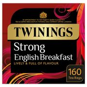 Twinings Strg English Breakfast 160 Tea Bags 500G