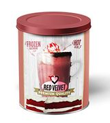 Red Velvet Instant Hot Chocolate. Strawberry Vanilla Biscuit Flavoured,