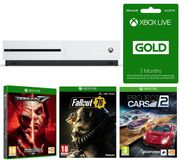 MICROSOFT Xbox One S, Fallout 76, Project Cars 2&3 Months LIVE Gold Only £229