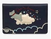 Radley Dare to Dream Small Leather Card Holder, Ink