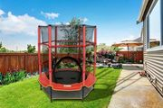 4.5ft Diameter Outdoor Trampoline