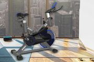 Studio Spin Bike with Rear Suspension - 12kg Flywheel!