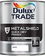 Dulux Trade One Coat White Matt Metal Acrylic Primer 1L