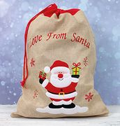Embroidered Santa Sack Only £2.79