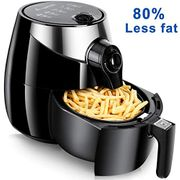 Air Fryer 3.5L Pan with 2.5L Basket