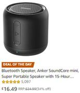 Bluetooth Speaker, Anker SoundCore Mini ***4.8 STARS***