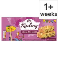 Mr Kipling Country Slices 6 Pack