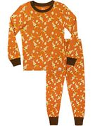Boys Giraffe Pyjamas Snuggle Fit. Sizes 18 Months to 9 Years Old