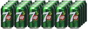 7UP Sparkling Lemon and Lime Drink Cans, 24 x 330 ml Only £8.75